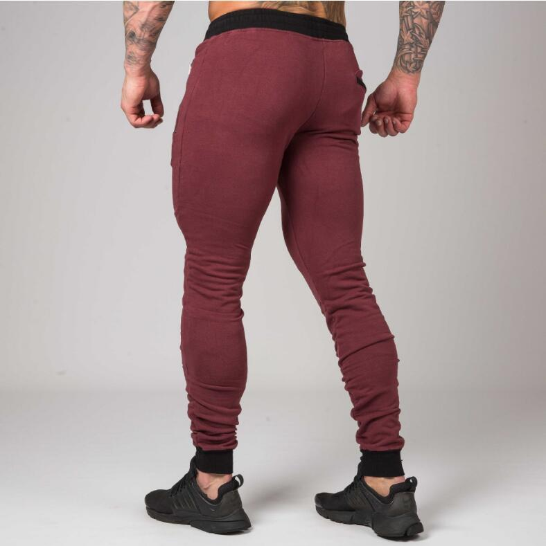 INITIATE BURGUNDY TAPERED BOTTOMS