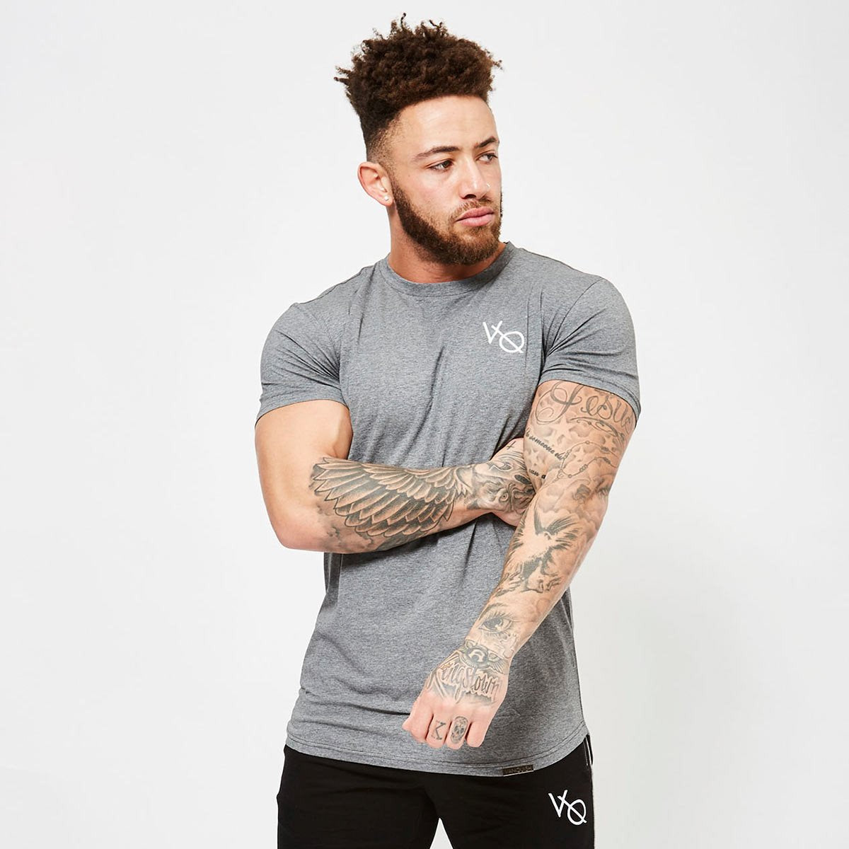 ESSENTIAL GREY SHORT SLEEVED T SHIRT