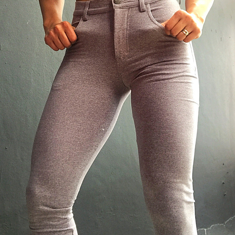 HEATHER GRAY LEGGINGS