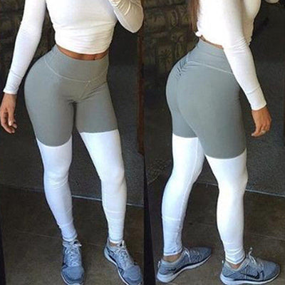 WHITE SOCK LEGGINGS