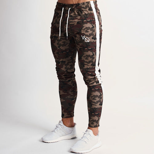 WOODLAND CAMO TRICOT STRIKE TAPERED SWEATPANTS