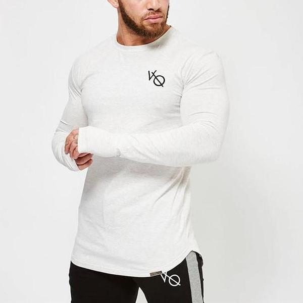 ECLIPSE WHITE LONG SLEEVED T SHIRT