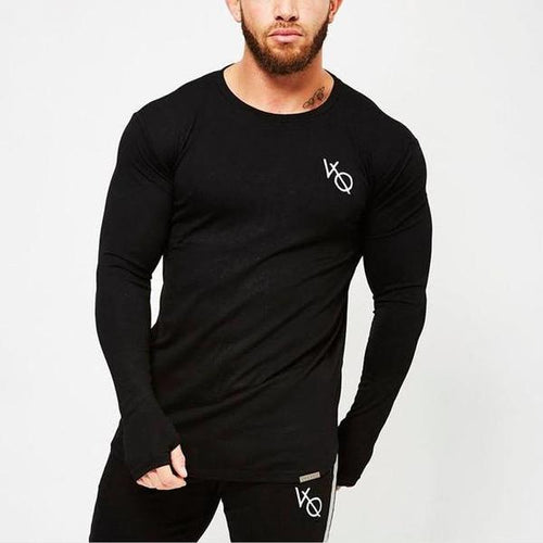 ECLIPSE BLACK LONG SLEEVED T SHIRT
