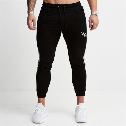 BLACK EDGE TAPERED SWEATPANTS