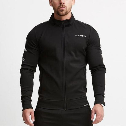 BLACK LT TRACK JACKET