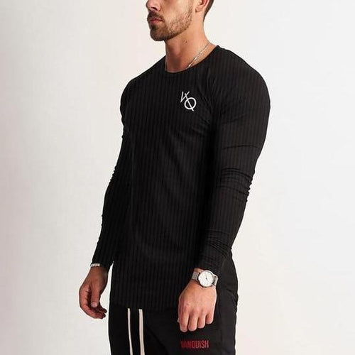 LEGACY BLACK LONG SLEEVED T SHIRT