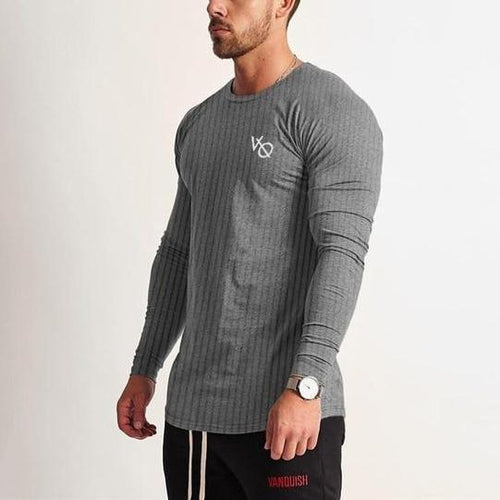 LEGACY GREY LONG SLEEVED T SHIRT