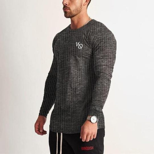 LEGACY DARK GREY LONG SLEEVED T SHIRT