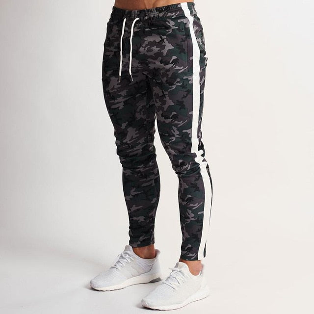 URBAN CAMO TAPERED SWEATPANTS | 2 COLORS