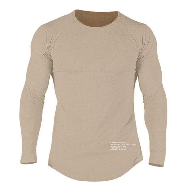 ALPHA BEIGE LONG SLEEVE