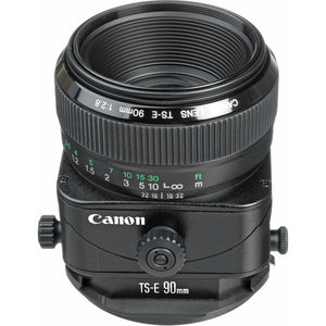 Lente Canon Tilt Shift 90mm