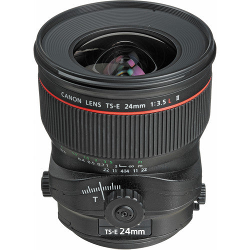 Lente Canon Tilt Shift 24mm