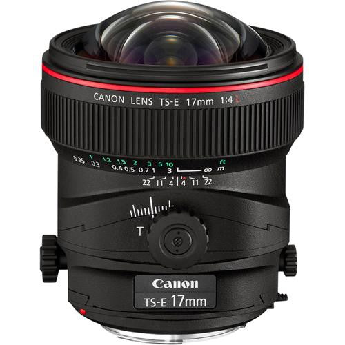 Lente Canon Tilt Shift 17mm
