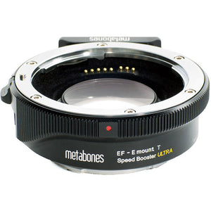 Adaptador de bocal Metabones Sony - EF com Speed Booster