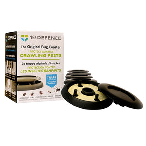 Open image in slideshow, 1st Defence Industries 4 Inch Round Bug Coaster (4 Pack)