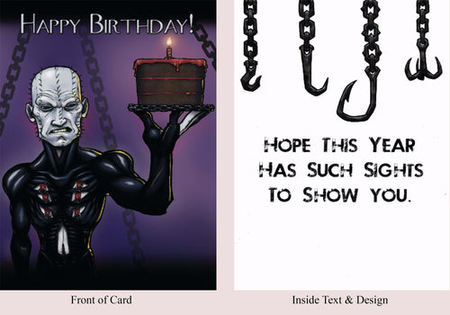Hellraiser - Birthday Card - Blood Bound Books