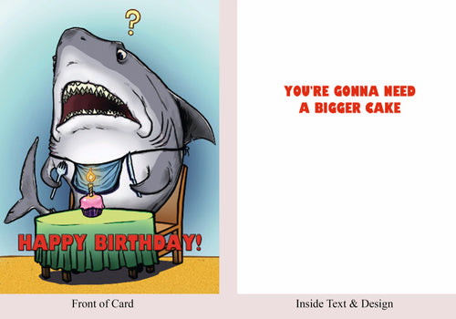 Jaws - Birthday Card - Blood Bound Books