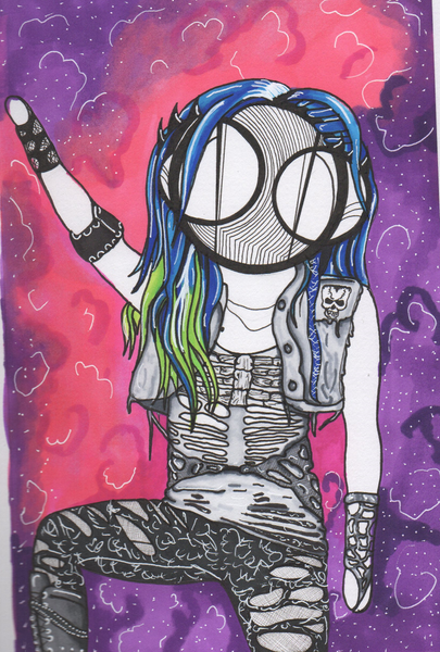 Alissa white-Gluz Fan Art Print