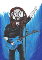 Dave Grohl Parody Print