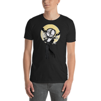 NIghtmare before christmas jack skellington tshirt in black by hannah arthur