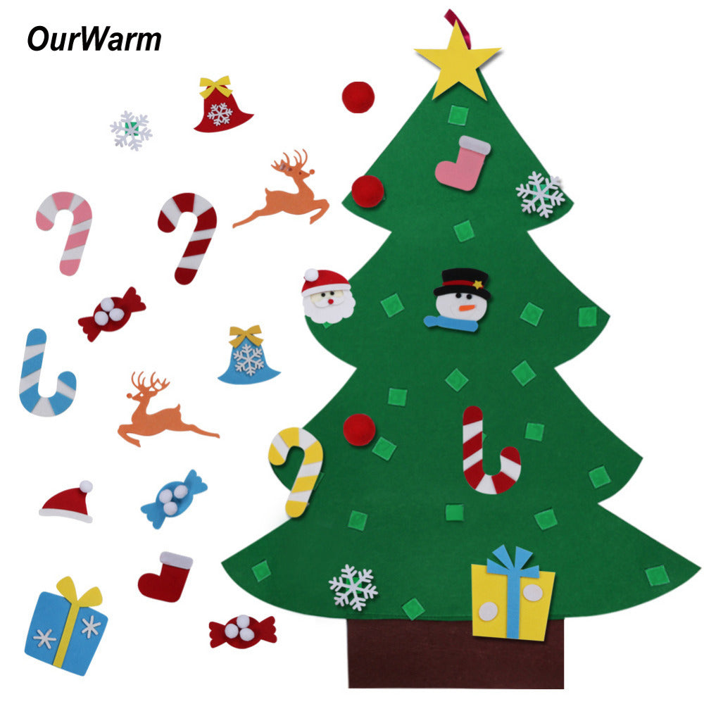 Kids DIY Felt Christmas Tree with Ornaments - Primo Limited