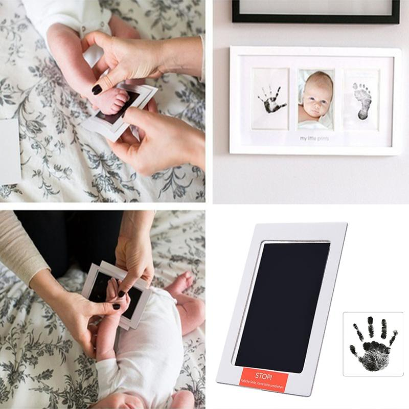 Baby Handprint & Footprint Photo Frame Kit with Ink Pad - Primo Limited