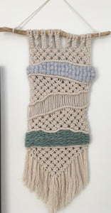 Mixed Fiber Macrame
