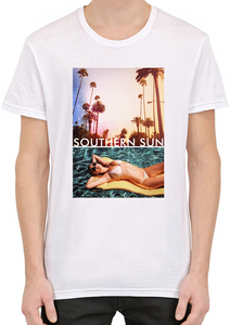 Southern Sun Paradise Beach T-Shirt For Men - The Fashion Shop