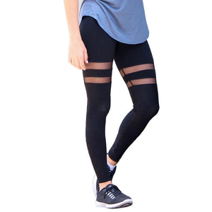 women translucent fitness leggings - The Fashion Shop
