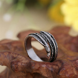 Women Feather ring - The Fashion Shop