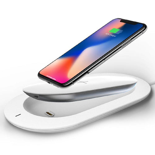 External Battery Powerbank for iPhone 8/X Wireless Charging