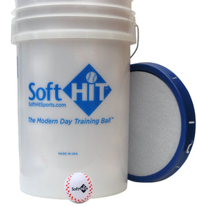 Soft Hit Ball Buckets w/ Balls