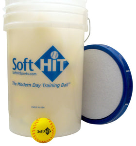 Foam Yellow Baseballs