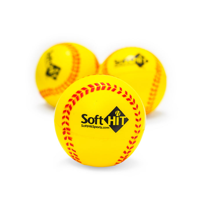 Soft Practice Softballs