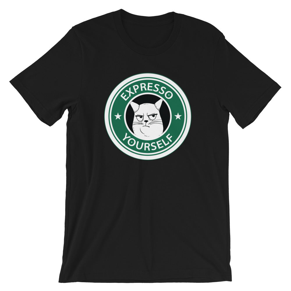 Expresso Yourself Short-Sleeve Unisex T-Shirt