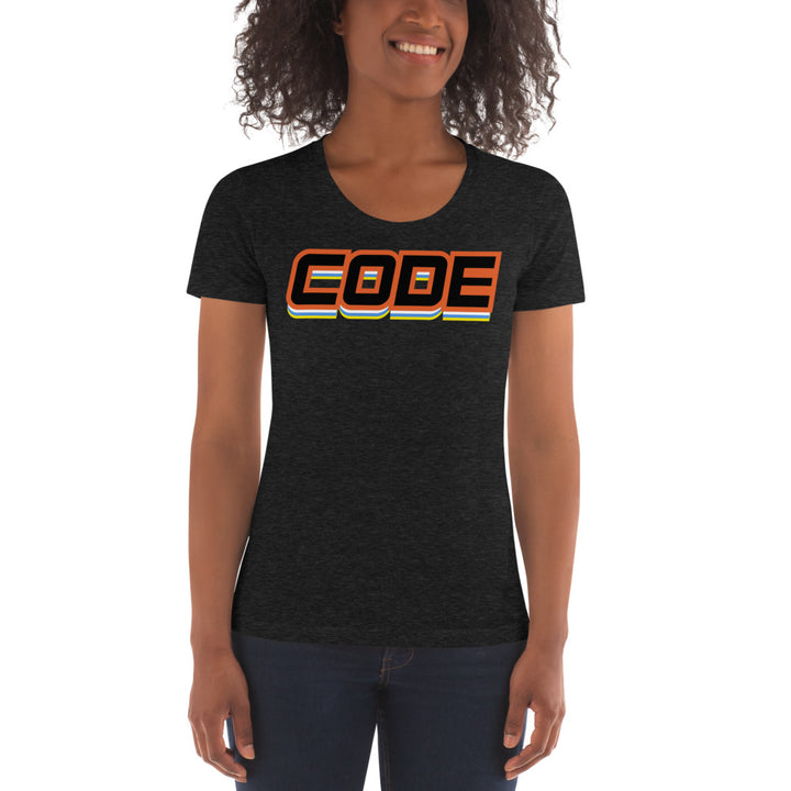 CODE Women's Crew Neck T-shirt
