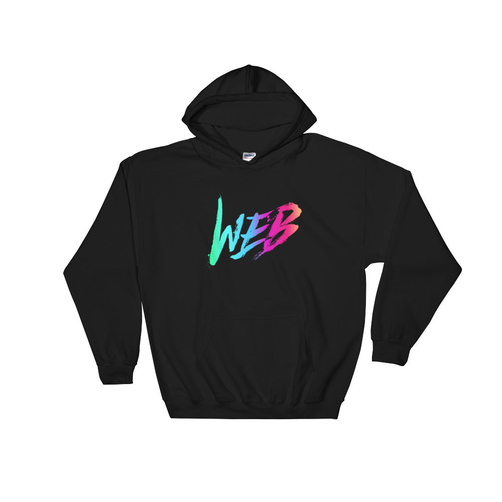 Web Hooded Sweatshirt