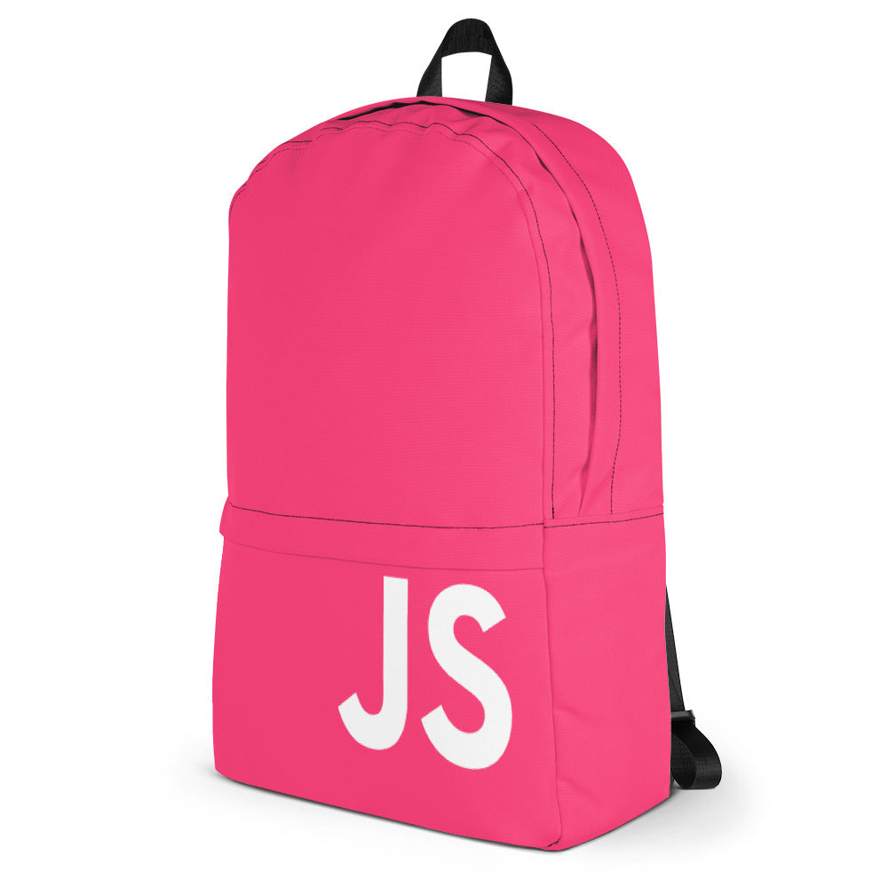JavaScript Limited Edition Backpack (Pink)
