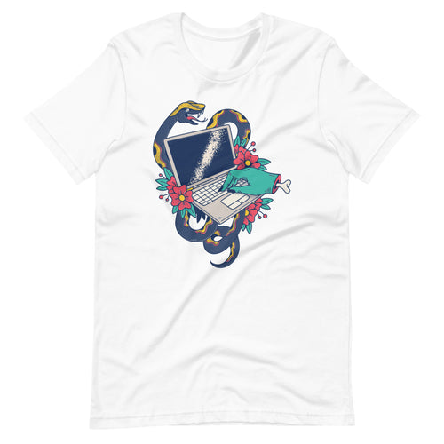 Laptop Tattoo Short-Sleeve Unisex T-Shirt