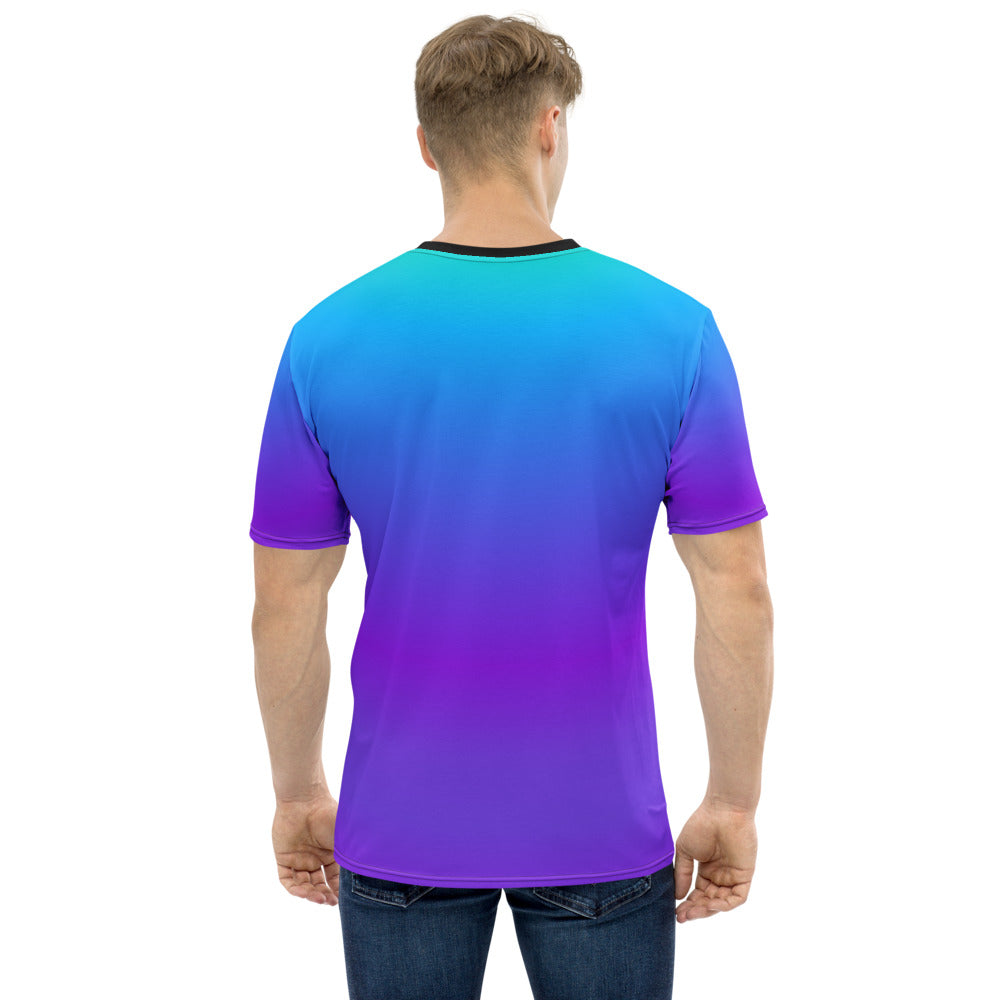 JavaScript Blue/Purple Gradient T-shirt