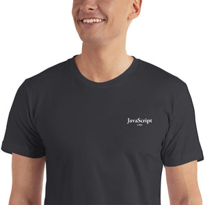 JavaScript - 1995 - Embroidered T-Shirt