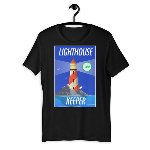 Lighthouse Keeper Short-Sleeve Unisex T-Shirt