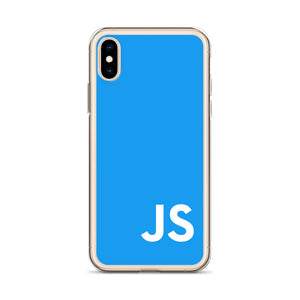 JavaScript (Blue) iPhone Case