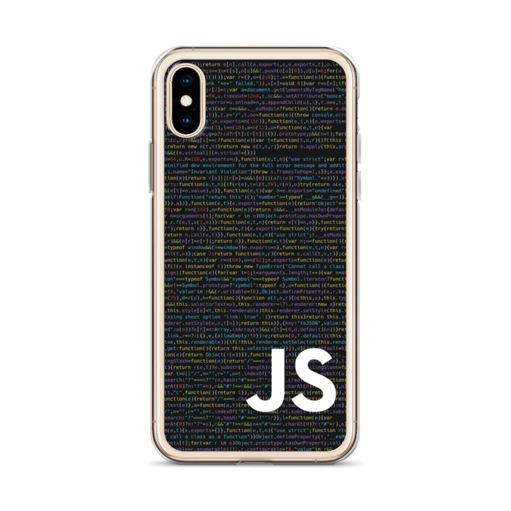 JavaScript Code Liquid Glitter Phone Case