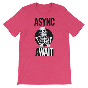 Async Await Short-Sleeve Unisex T-Shirt