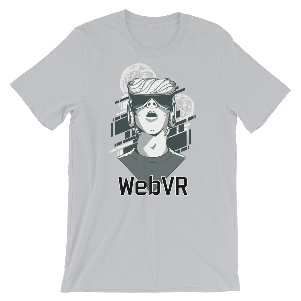 WebVR - Virtual Reality Short-Sleeve Unisex T-Shirt