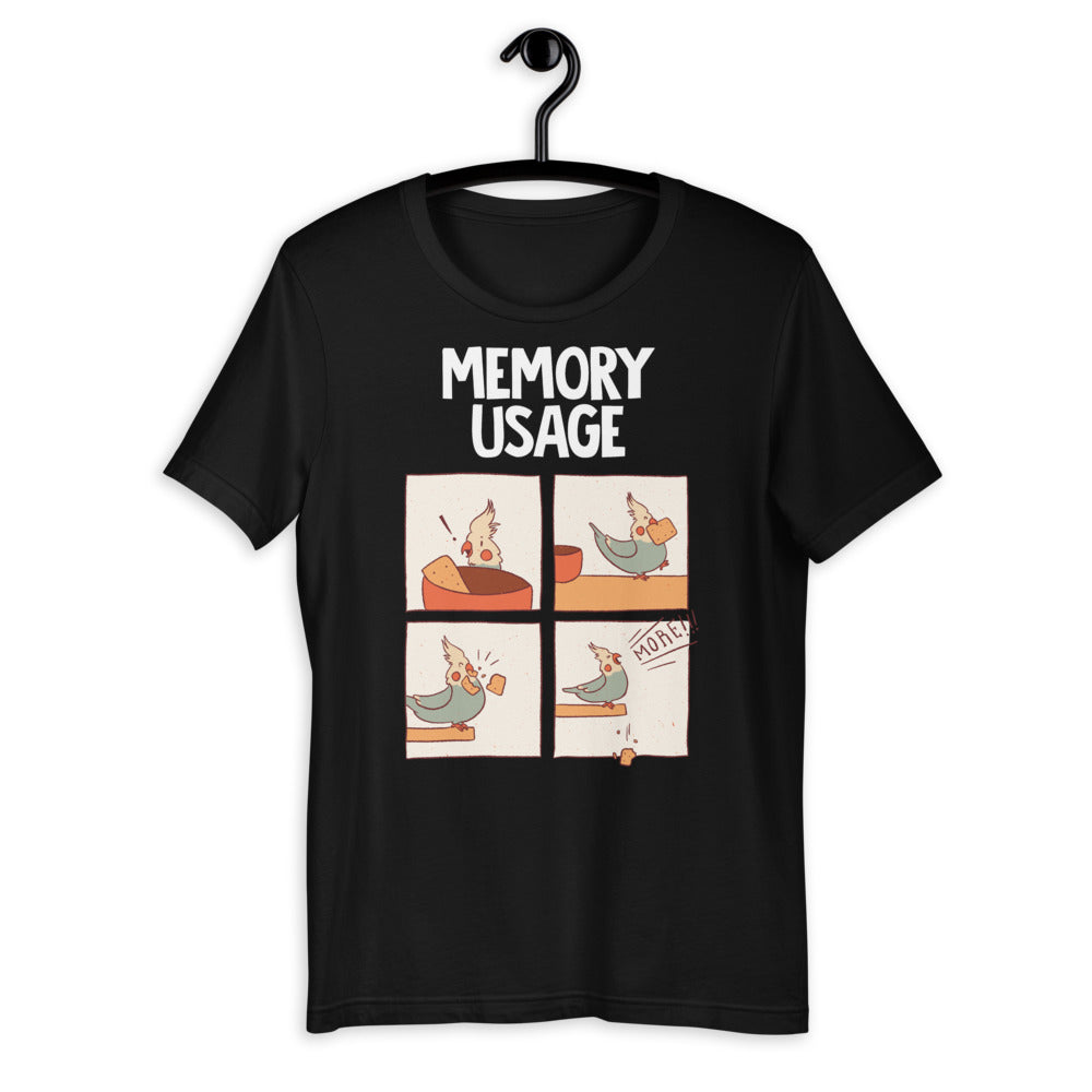 Memory Usage Short-Sleeve Unisex T-Shirt