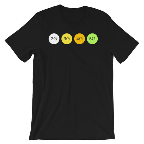 Network Connection Types Short-Sleeve Unisex T-Shirt