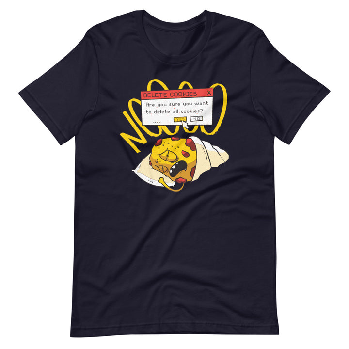 Delete Cookies Short-Sleeve Unisex T-Shirt