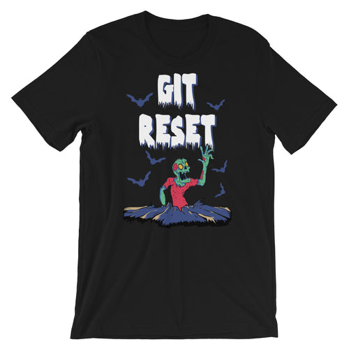 Git Reset (Zombies!) Short-Sleeve Unisex T-Shirt